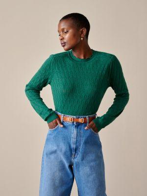 Bellerose Uhol Knit Sweater Eden Green