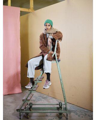 Maska Helga Wool Laurel Green Sweater with Pockets
