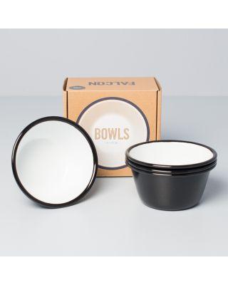Falcon Enamelware Bowls Black