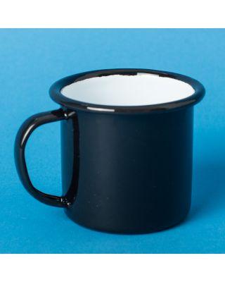 Falcon Enamelware Espresso Cup Coal Black