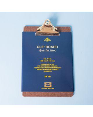 Penco Blue Clip Board A5