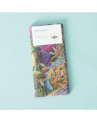 Choba Choba Rosario - Dunkle Schweizer Schokolade 71% mit Meersalz