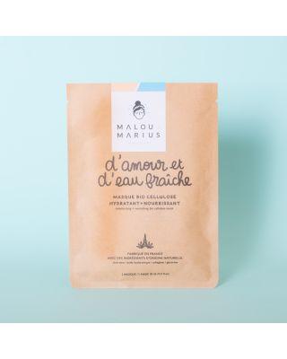 """Face Mask """"D'amour et d'Eau fraîche"""" Femme: Moisturising & Nourishing"""