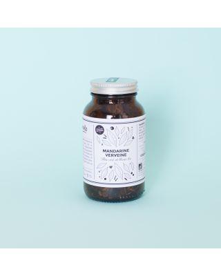 Mandarin Verveine: Organic Mandarin & Verbena infused Green & White Tea 65g