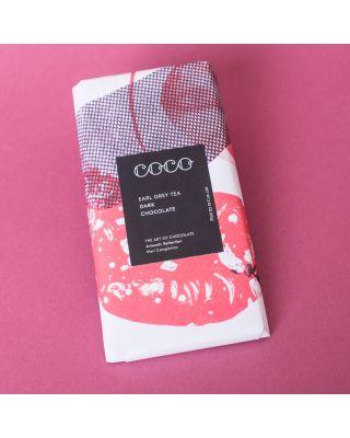 COCO Earl Grey Tea Bergamot 61% Dark Selection Vegan