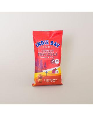 Indie Bay Snacks -  Smokin' BBQ Healthy Pretzel Bites 26g