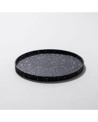 Laurin Schaub Plate Terrazzo Blk